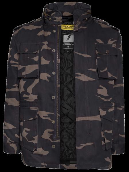 """JOHN DOE Jacket - """"Field Jacket XTM"""" - camouflage"""