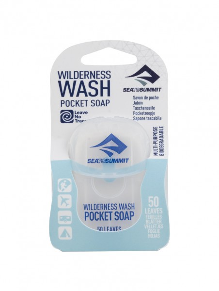 "SEA TO SUMMIT - ""Wilderness Wash Pocket Soap"" - 50 leaves"