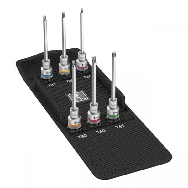 "WERA Tools - ""Zyklop 1/2"" drive extended Torx® socket bit set"" - Torx® screws"