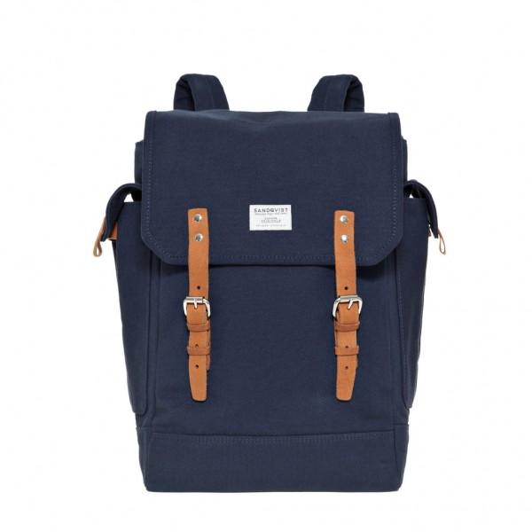 "SANDQVIST Backpack - ""Bob"" - blue"
