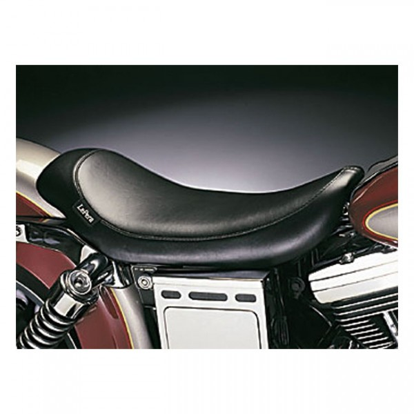"""LEPERA Seat - """"LePera, Silhouette solo seat. Smooth. Gel"""" - 96-03 Dyna FXDWG (NU)"""