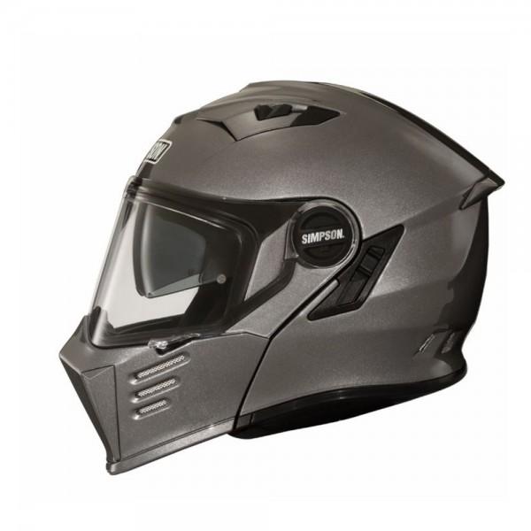 Simpson Flip-Up Helmet Darksome Gunmetal