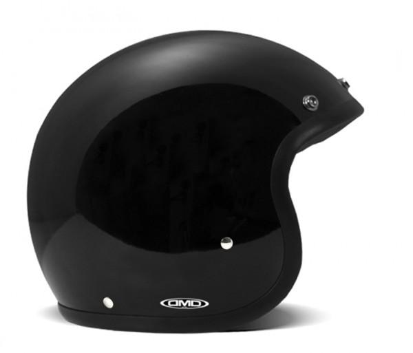 DMD Open Face Helmet Vintage Black