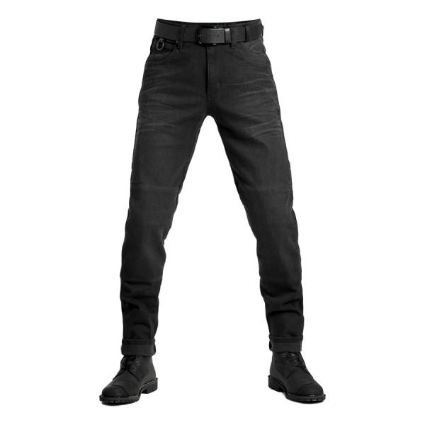 PANDO MOTO Jeans Boss Dyn 01 in Schwarz