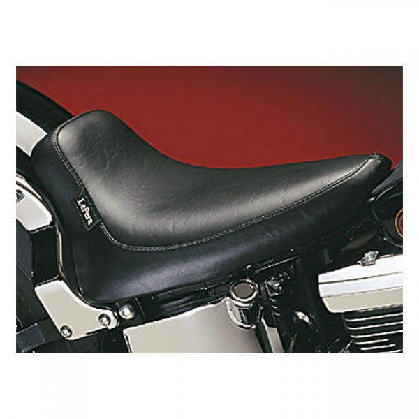 """LEPERA Sitz - """"Silhouette solo seat. Smooth. Gel"""" - 06-17 Softail (excl. FXS, FLS/S) with 150mm tire"""