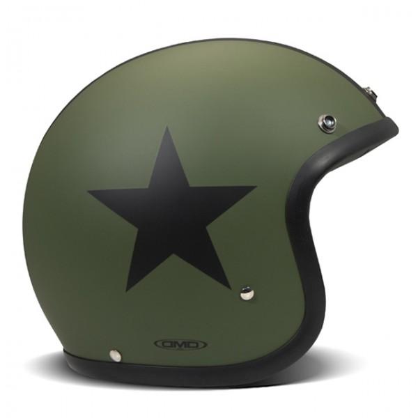 DMD Vintage Helmet Star Green/Black