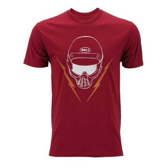 "BELL T-Shirt - ""Facemask Cardinal"" - red"