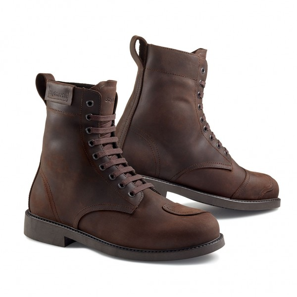 STYLMARTIN Motorcycle Boots District brown waterproof