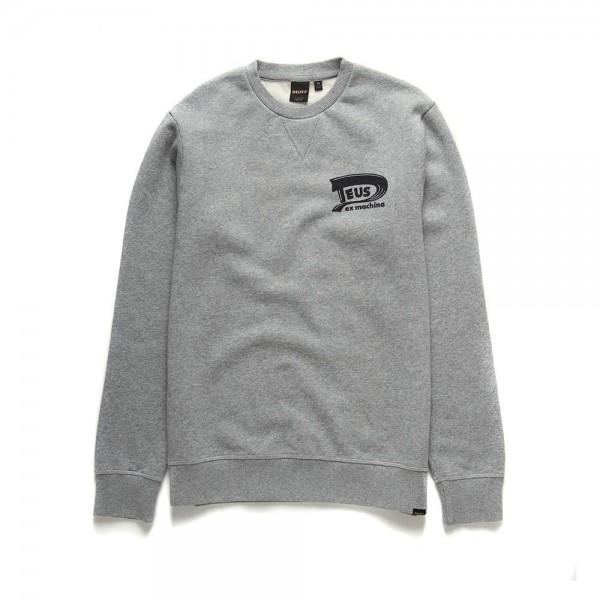 """DEUS EX MACHINA Sweatshirt - """"Benzin Crew"""" - grau"""