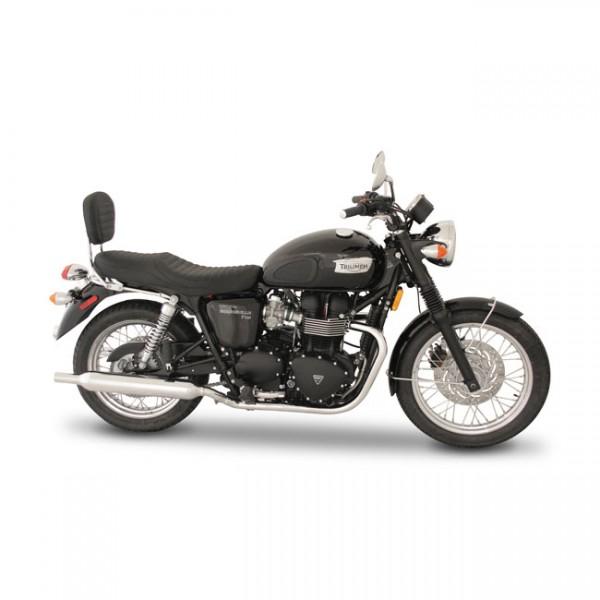 """MUSTANG Sitz - """"Mustang 1-p Sport Touring seat black"""" - Triumph 01-14 Bonneville, 01-14 Bonneville T"""