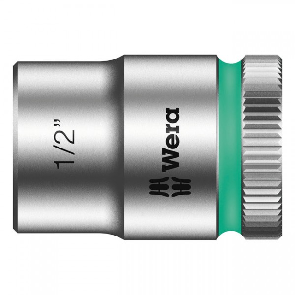 """WERA Tools - """"Zyklop 3/8"""" socket - US size 1/2"""""""" - Hex bolts and nuts"""