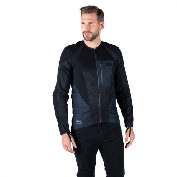 KNOX Armoured Shirt Urbane Pro MK2 black and denim