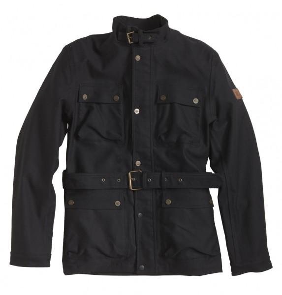 """ROKKER Jacket - """"Black Jakket Long"""" - black"""