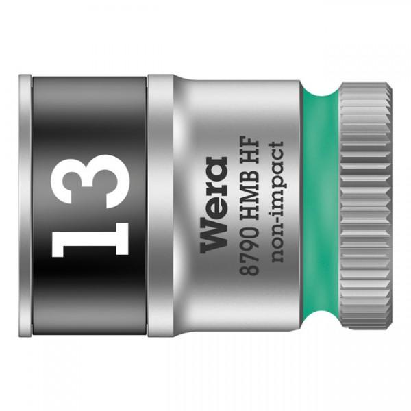 """WERA Werkzeug - """"Wera Zyklop 3/8""""-Nuss mit Haltefunktion - Metrisch 13,0"""" - Hex bolts and nuts"""