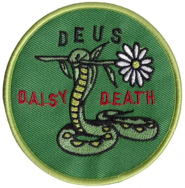 """DEUS EX MACHINA Aufnäher - """"Daisy Death"""""""