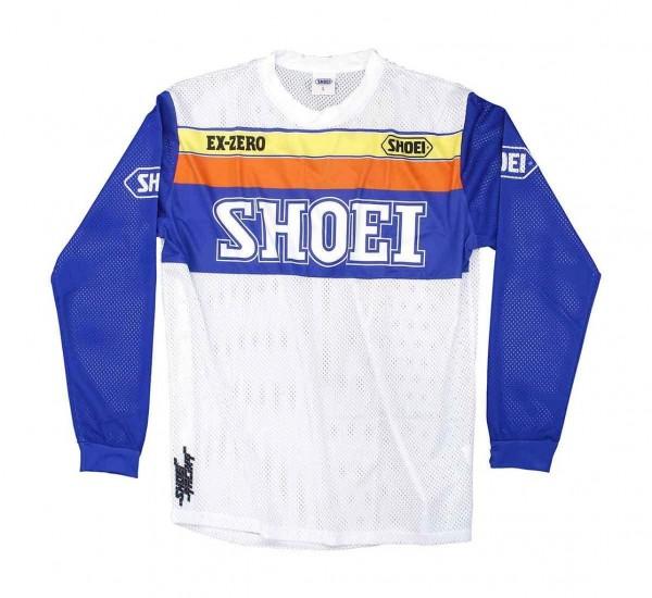 SHOEI Moto Jersey Equation in Weiß und Blau