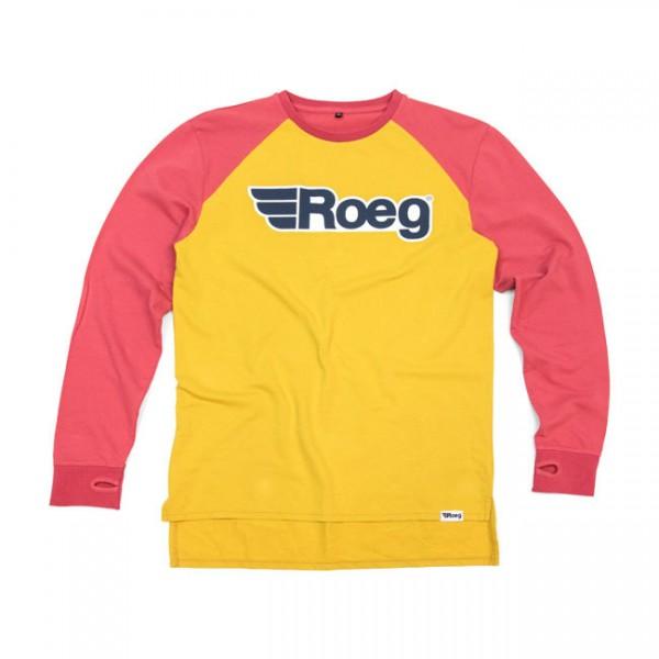 """ROEG - """"Ricky Sweatshirt"""" - yellow & red"""