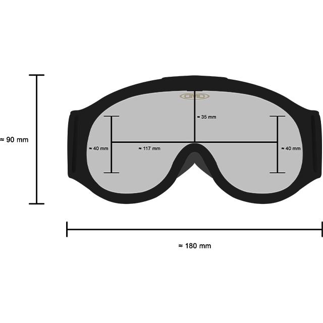DMD Brillenmaße