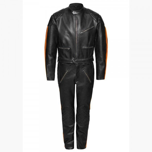 "ERDMANN - ""Motorcycle Leather Suit"" - custom made"