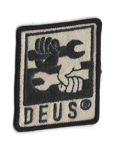 """DEUS EX MACHINA Aufnäher - """"Spanner Hands"""""""
