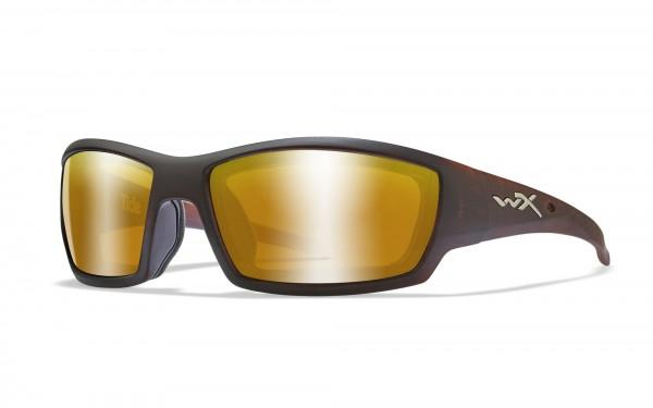 Wiley X Brille Tide Gold Verspiegelt
