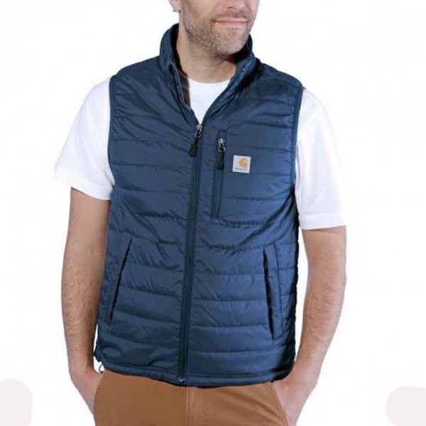 Carhartt Gilliam Vest in Dark Blue