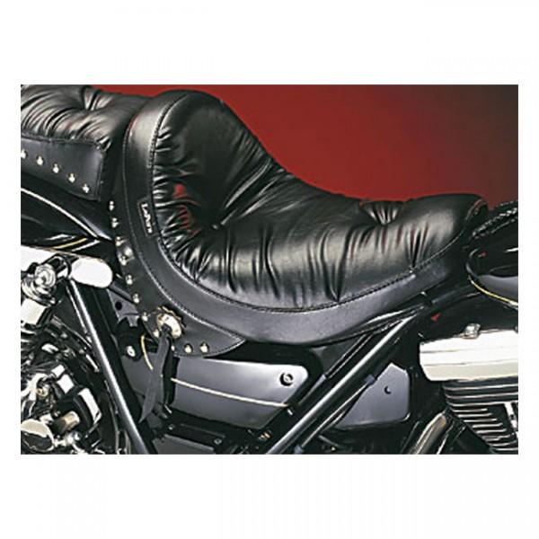 "LEPERA Seat - ""LePera, Monterey solo seat. Regal Plush with skirt"" - 82-94 FXR (NU)"
