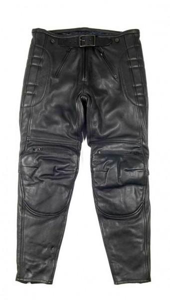 "EL SOLITARIO Leather Pants - ""Rascal Leather Motorcycle Pants"" - black"