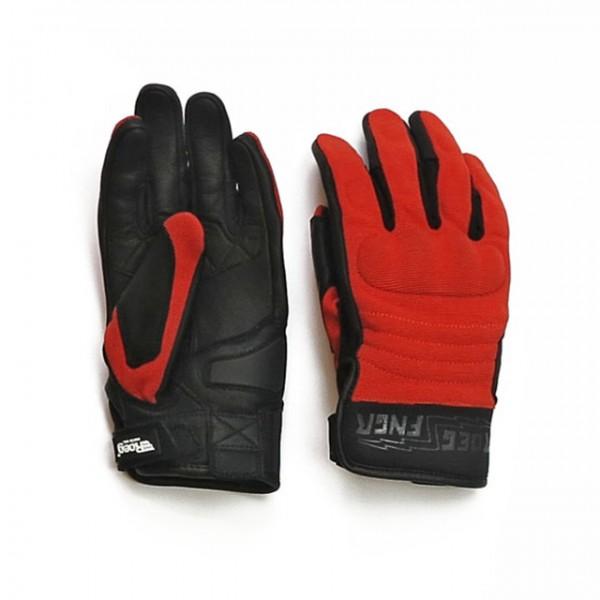 ROEG motorcycle gloves FNGR orange