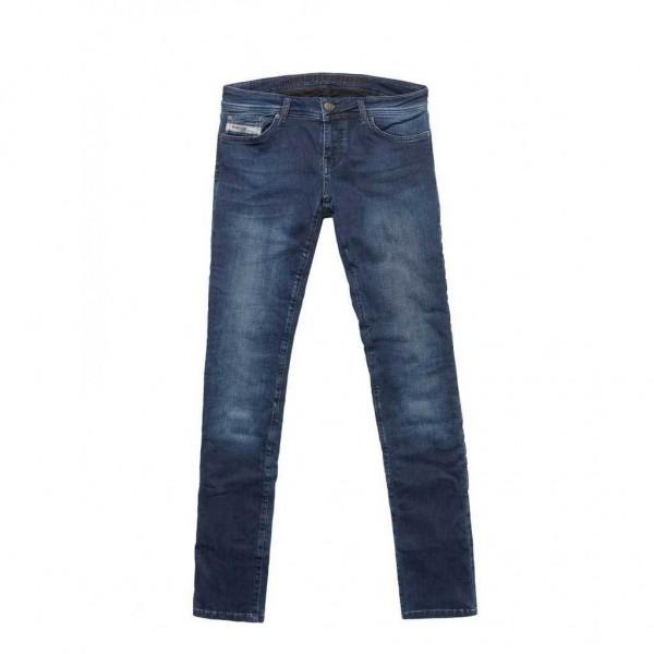 "JOHN DOE Damen Jeans - ""Low Waist Betty""- indigo"