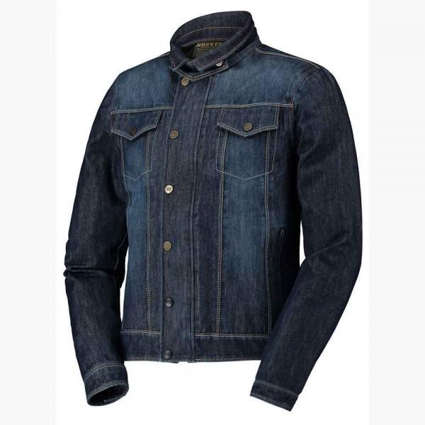 """ROKKER Jacket - """"Revolution"""" - blue waterproof"""