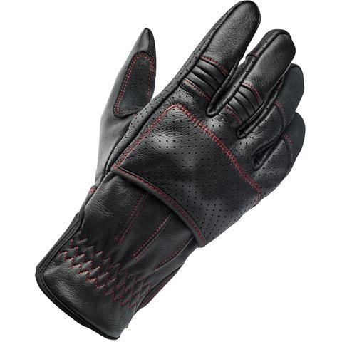 "BILTWELL Handschuhe - ""Borrego Redline CE"" - schwarz & rot"
