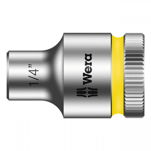 """WERA Tools - """"Zyklop 3/8"""" socket - US sizes 1/4"""""""" - Hex bolts and nuts"""