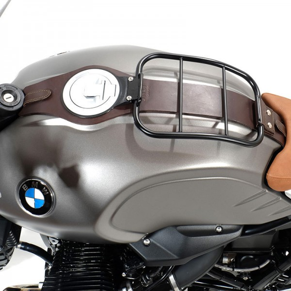 """UNITGARAGE - """"Tank Luggage Rack with Tank Belt"""" for BMW - brown"""