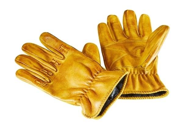 "ROKKER Handschuhe - ""Ride Hard"" - gelb"