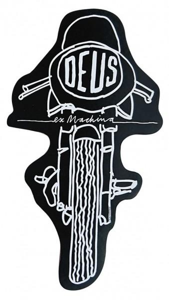 """DEUS EX MACHINA Sticker - """"Frontal"""" - black"""