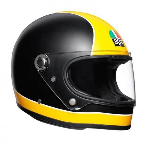 "AGV X3000 - ""Super AGV Matt Black & Yellow"" - ECE"