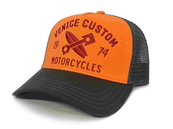 """ROKKER Hat - """"Venice Custom Trukker"""" - orange"""