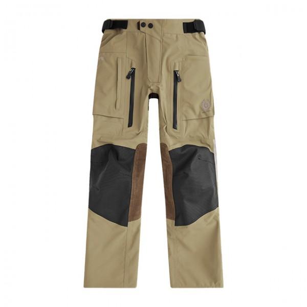 BELSTAFF Motorcycle Pants Long Way Up Trousers waterproof dark sand