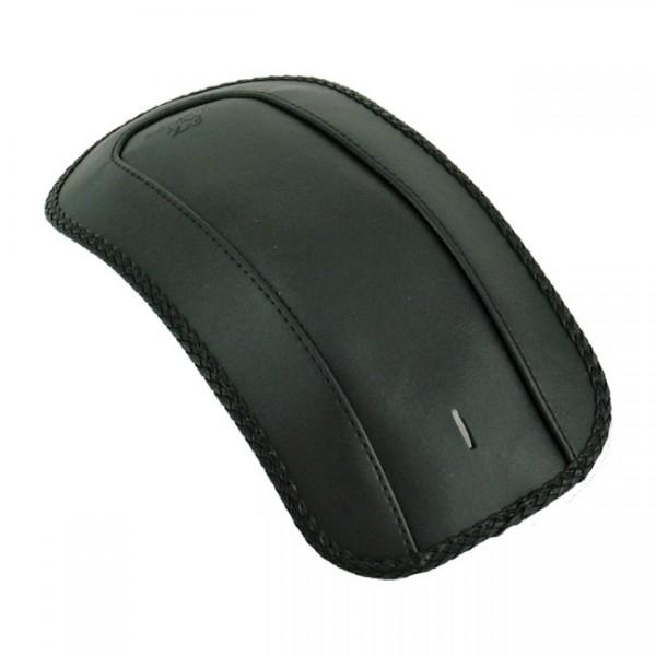 "MUSTANG Sitz - ""Mustang, rear fender bib. Plain with braided edges"" - 11-13 FXS Softail Blackline; 1"