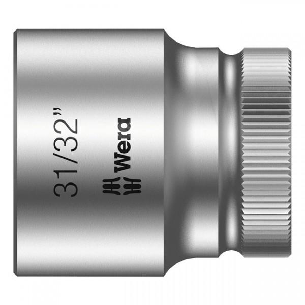 """WERA Werkzeug - """"Wera Zyklop 1/2""""-Nuss - US-Größen 31/32"""""""" - 1/2"""" drive"""