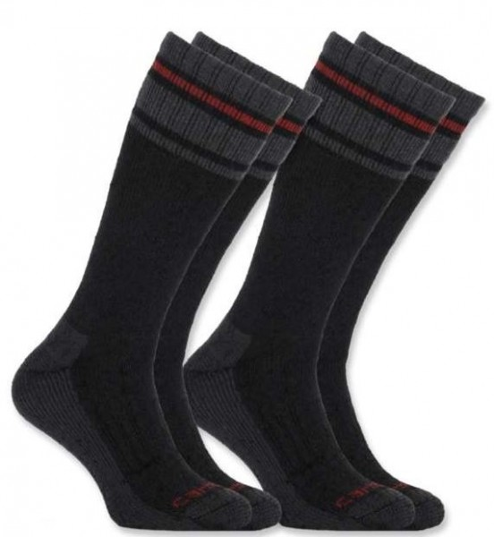 CARHARTT Socken Cold Weather Thermal Sock in Schwarz