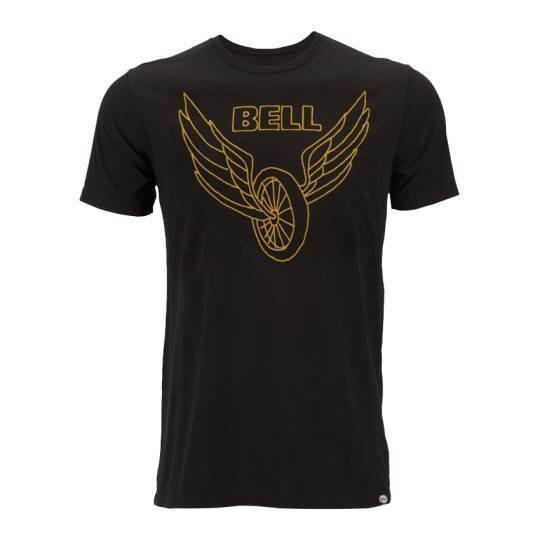 """BELL T-Shirt - """"Wing & Wheel"""" - schwarz"""