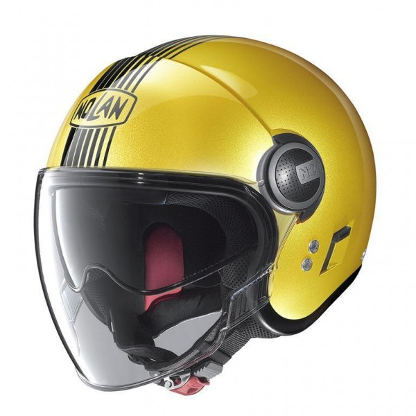 "NOLAN N21 VISOR - ""Joie Spark Yellow 54"" - ECE"