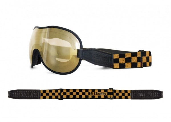 """ETHEN Goggles - """"Cafe Racer CR0123"""" - photochrome, bronze mirrored"""