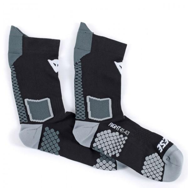 Dainese Socken D-Core Mid Sock in Schwarz