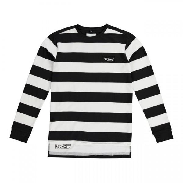 """ROEG Jersey - """"Seb"""" - black & white"""