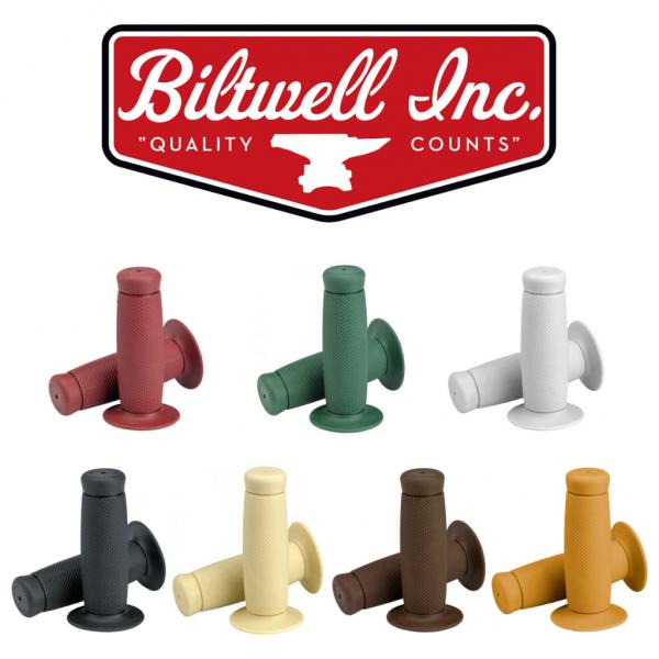 """BILTWELL Grips - """"Renegade"""" - 7/8 inch"""