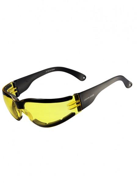 "JOHN DOE Glasses - ""Ventura Padding"" - yellow"