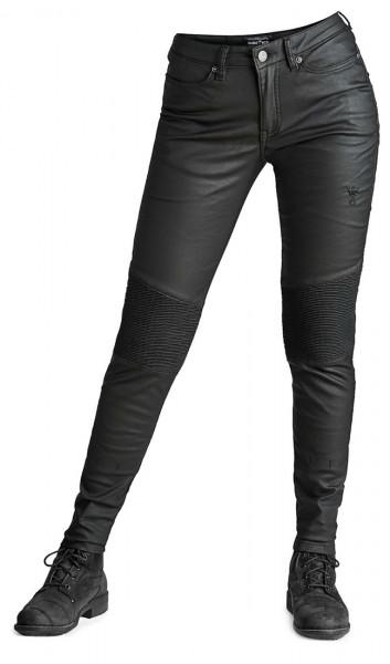 Pando Moto Kusari Women Motorcycle Jeans black